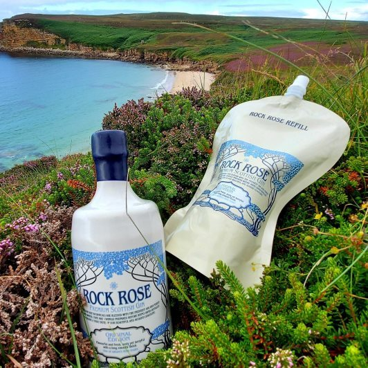 Rock Rose Gin voted a 'Cool Brand'