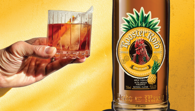 Introducing Rooster Rojo Smoked Pineapple Tequila