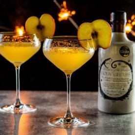Vodka Martinis with a difference for Bonfire Night